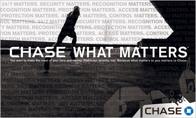 Chase What Matters Most campaign