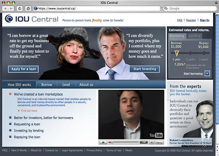 IOU Central website
