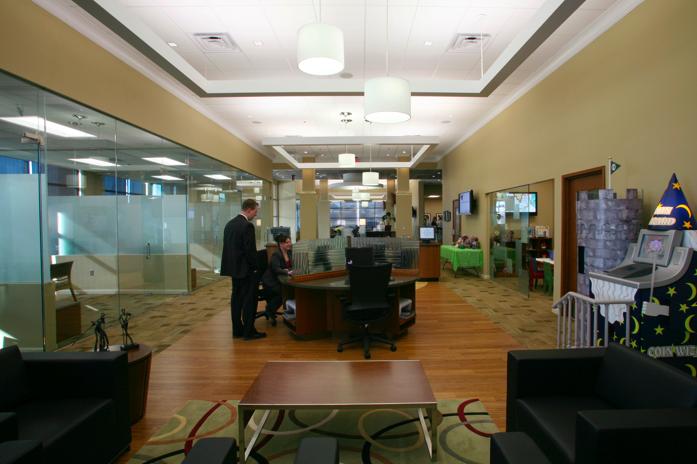 Omaha Bank's New Branch Concept Includes 'Virtual Koi Pond'