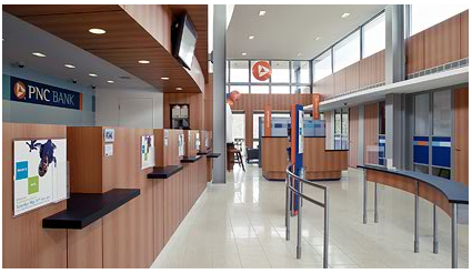 PNC branch interior
