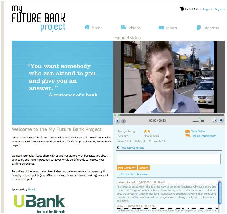 ubank social media case study