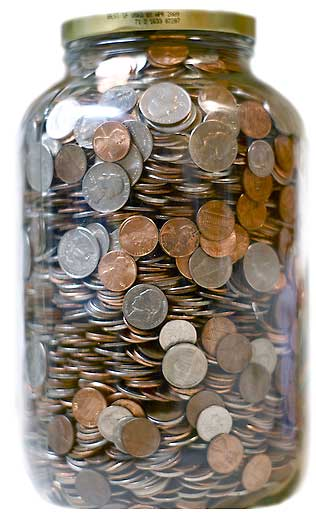 Coin Jars World Coins Collecting