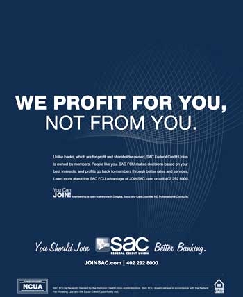 Sac Uses New Look To Tout The Credit Union Difference