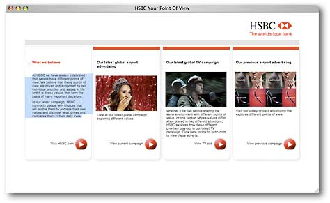 HSBC 'Different Points of Value'