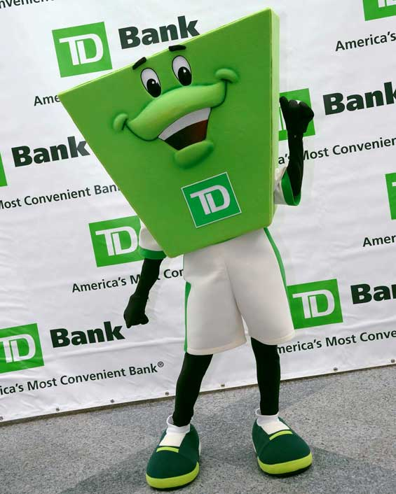 TD Introduces Mascot, But What the Heck Is It?