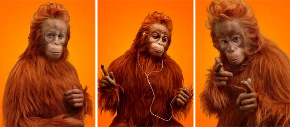 ING DIRECT Ads Star Naked, Creepy Ape