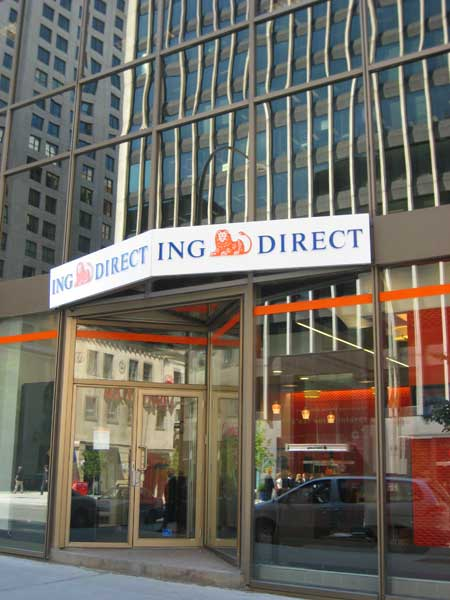 Los Cafe Del Banco Ing Direct Ebanking News