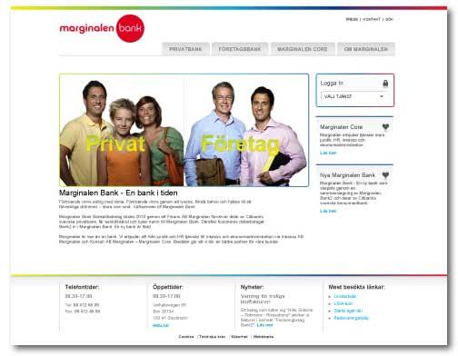 marginalen bank online