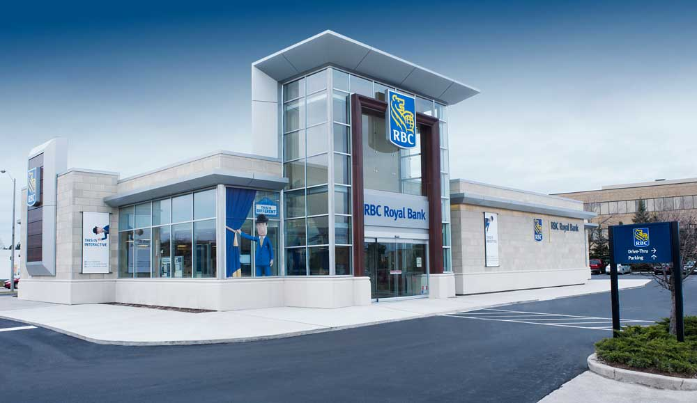 Rbc debuts new retail store concept for Store building design