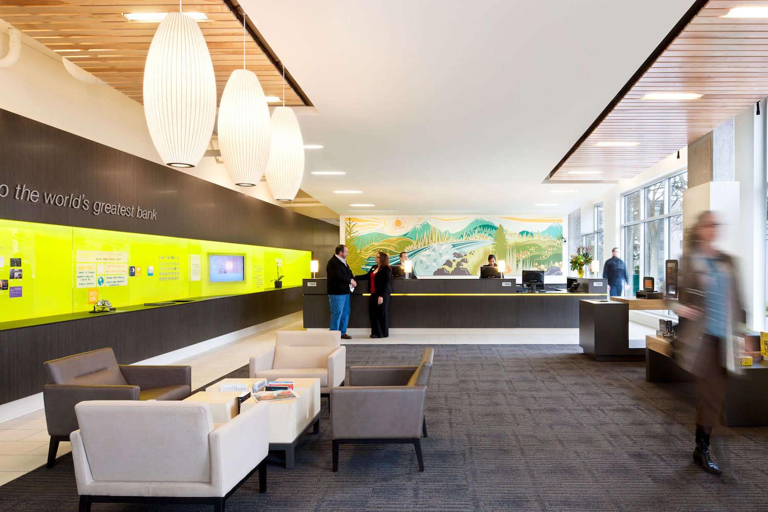 Umpqua bank debuts next generation store model for Bank designs architecture