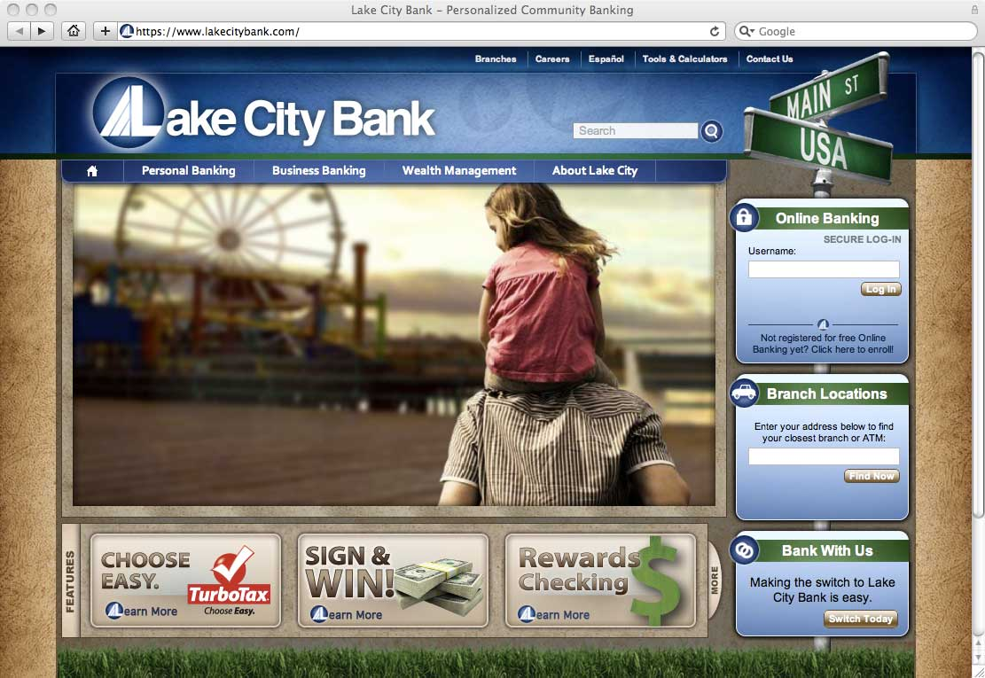 New Visual Trends In Retail Banking Websites
