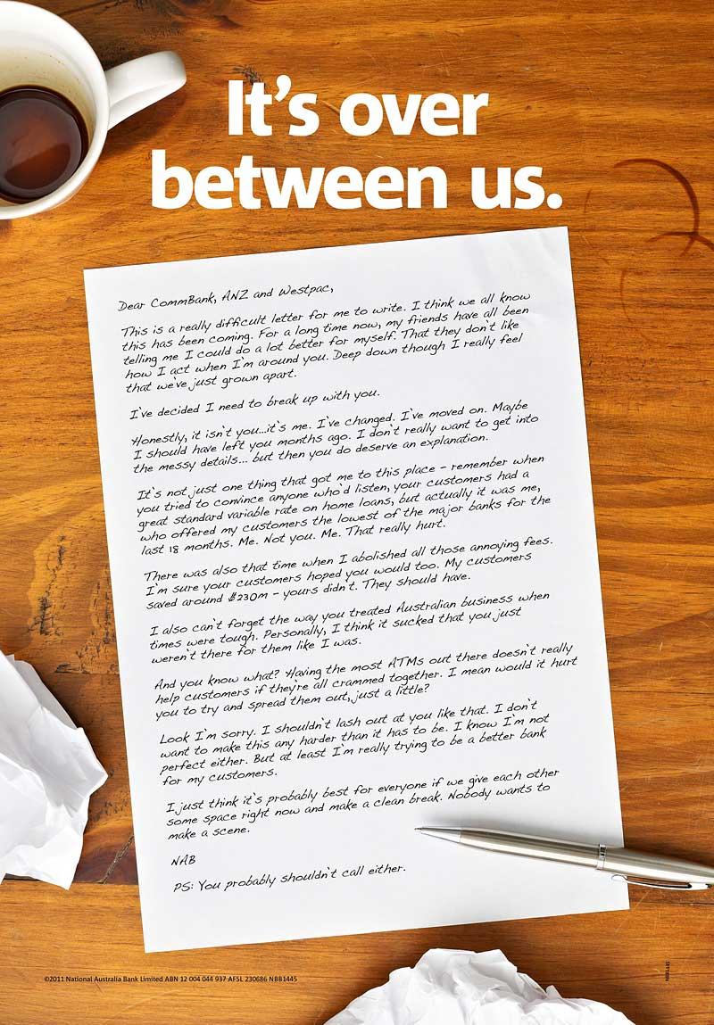 Sample Break Up Letter To Her