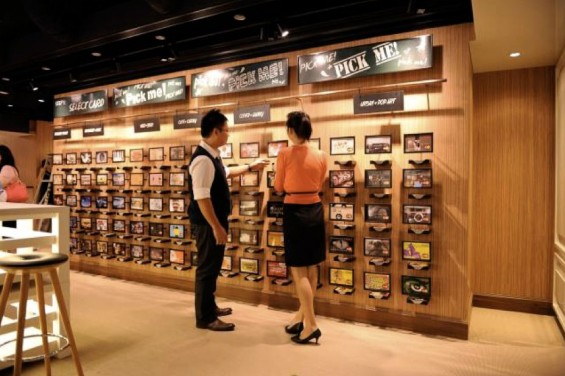 FRANK by OCBC Store - Debit Card Design Merchandising