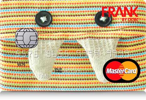 "FRANK by OCBC ""Munchy Fangs"" Debit Card"