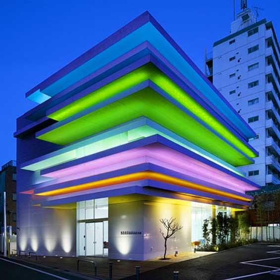 High Tech Modern Architecture Buildings: Branch Design Showcase: The Sleek, Slick And High Tech