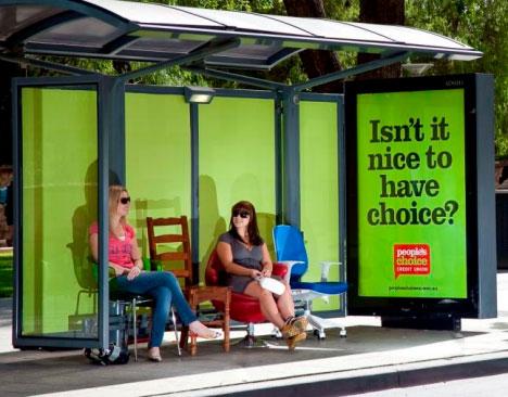 Creative Inspiration Musical Bus Stop Airport Stunts
