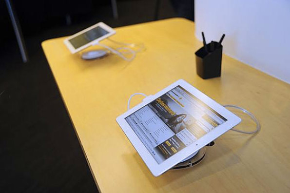 In Branch Tablet Banking Kiosks Ideas Opportunities And