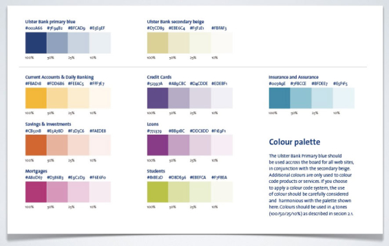 Color Palette Book Color Palette According to