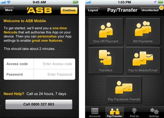 ASB Launches Mobile Facebook Payments