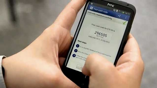 ATM Cash Withdrawals Go Cardless With Mobile Banking App