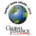 global_finance_safest_bank_award