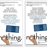 tulsa_federal_credit_union_nothing_checking_ads