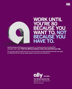 Ally Bank Launches New Stages Campaign