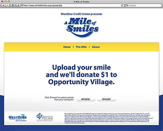 Credit Union Charity Campaign Shoots For 'A Mile Of Smiles'