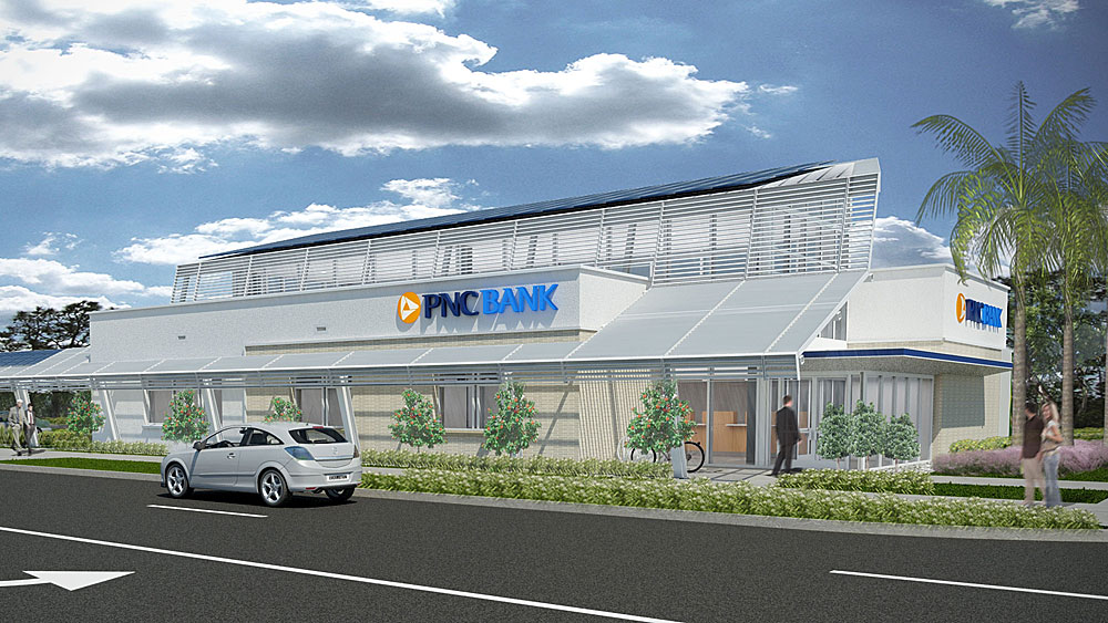 PNC Bank's Green Branch To Produce More Energy Than It Consumes