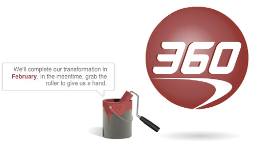 at the new website for capital one 360
