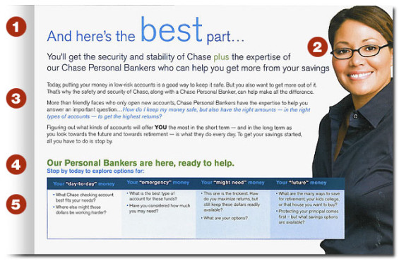 direct marketing clinic  chase mailer pros  u0026 cons  tips