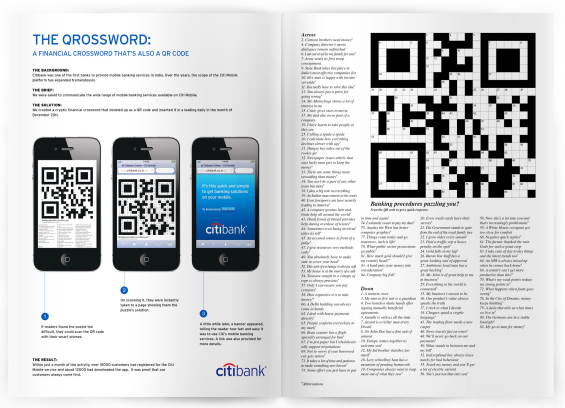 citibank_qr_crossword_magazine_ad