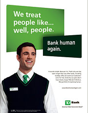 TD Tells Customers To 'Bank Human' With Lollipops And Pens