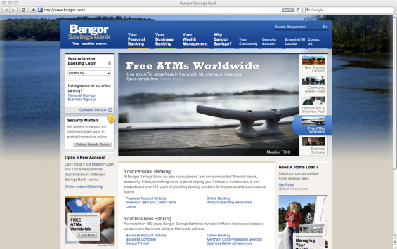 bangor_savings_bank_website