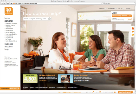 bankwest_website