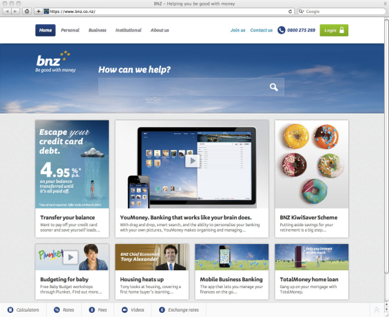 bnz_bank_website