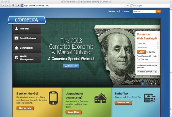 comerica_bank_website