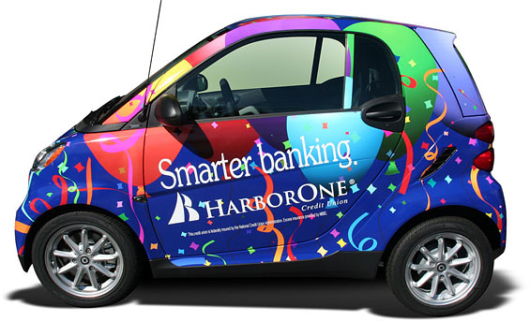 harbor_one_credit_union_smart_car