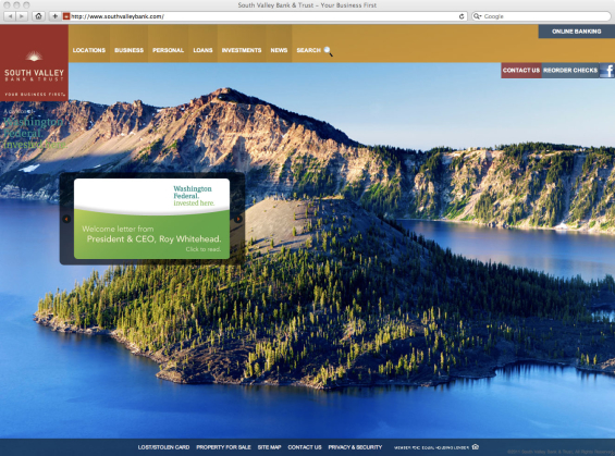 south_valley_bank_website