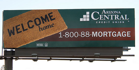 arizona_central_credit_union_mortgage_billboard