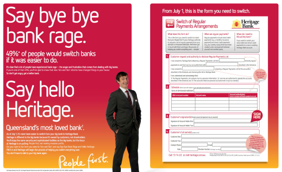 heritage_bank_two_page_print_ad