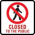closed_to_the_public