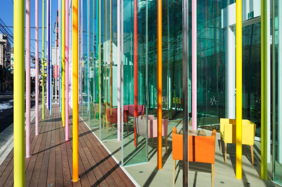 sugamo_shinkin_bank_color_poles