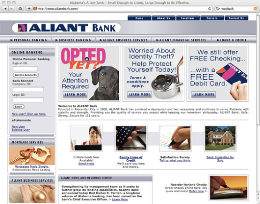 aliant_bank_old_website