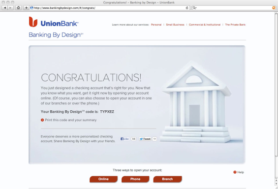 union_bank_banking_by_design_congratulations