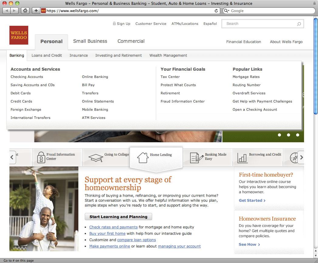 Wells Fargo Bank osobisty pożyczka