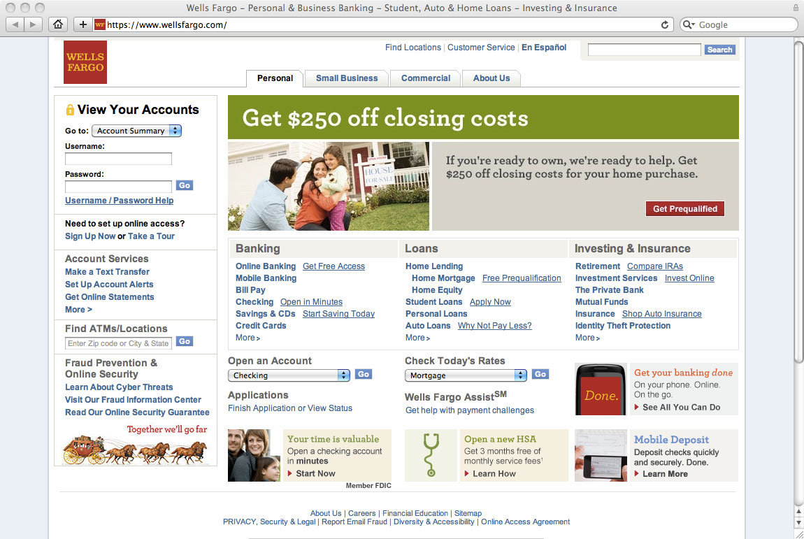 Wells Fargo Website Old Homepage The Financial Brand Glitter Wallpaper Creepypasta Choose from Our Pictures  Collections Wallpapers [x-site.ml]