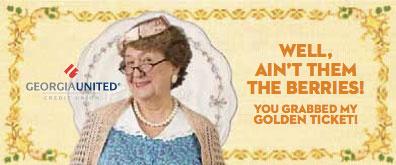georgia_united_credit_union_aunt_sophie_golden_ticket