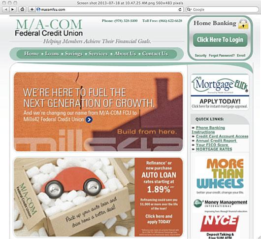 macom_fcu_old_website