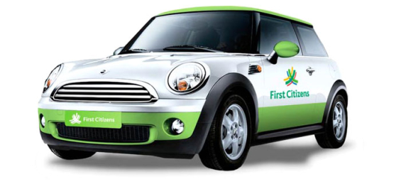first_citizens_bank_mini_cooper